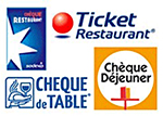 Ticket Restaurant accepté